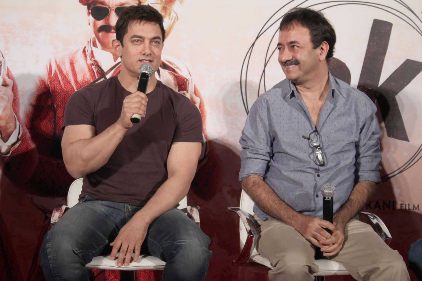 Aamir Khan and Rajkumar Hirani