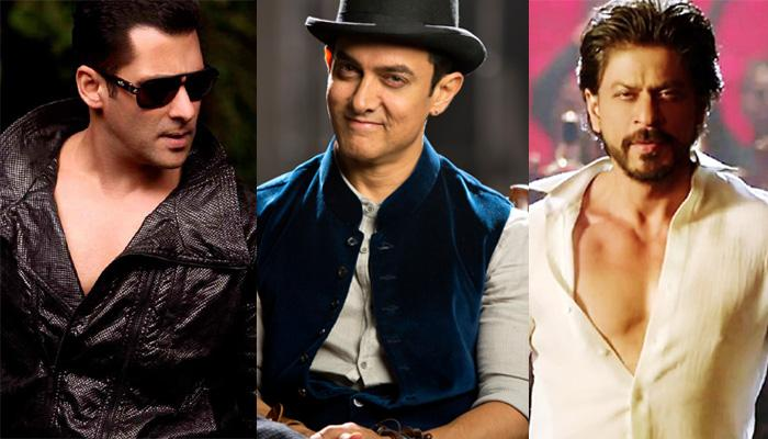 Salman, SRK and Aamir