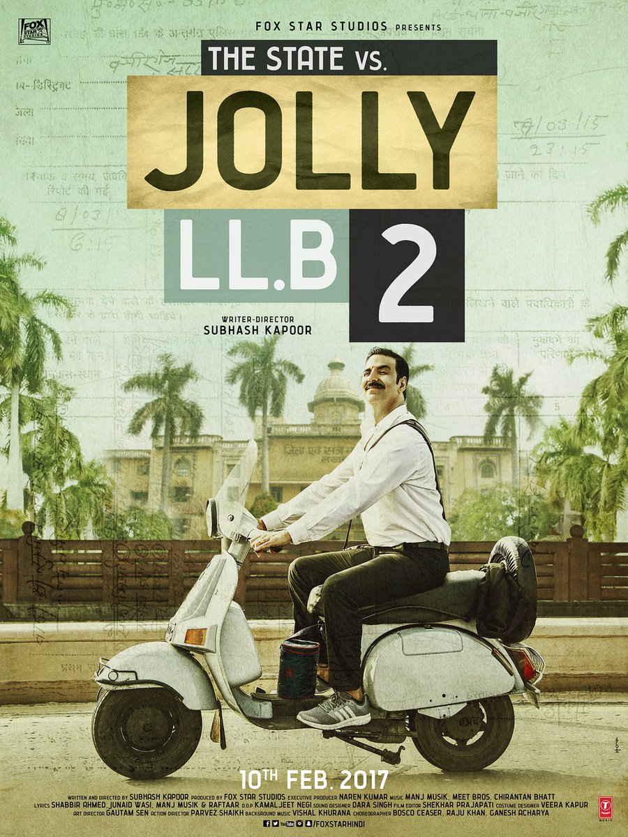 Jolly LLB 2 First Look Poster