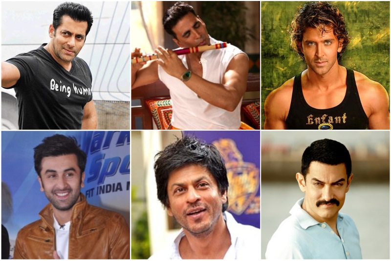 Top 10 Bollywood Actors January 2017