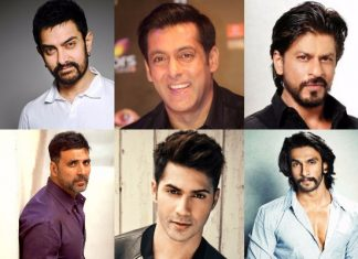 Top 10 Bollywood Actors April 2017