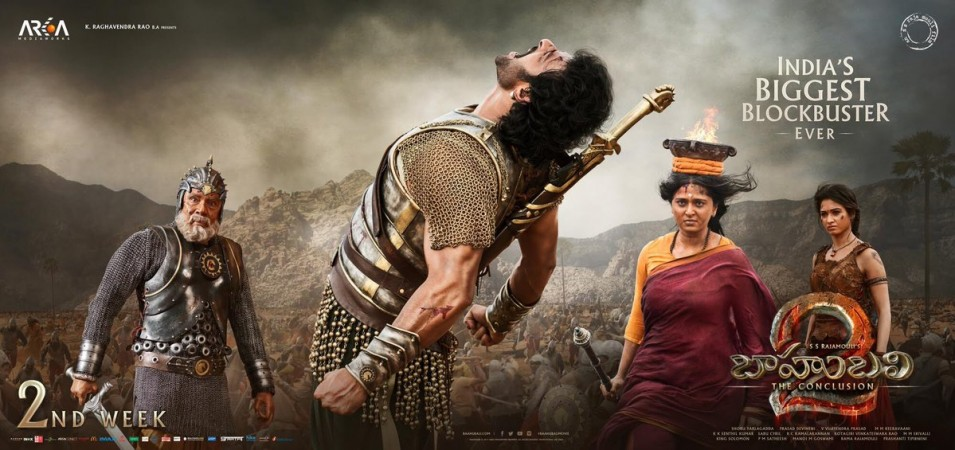 Bahubali 2 2nd Monday Box Office Collection Update