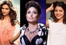 Top 10 Bollywood Actresses July 2017
