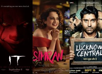 Weekend Box Office Report: Simran, Lucknow Central are Flops, IT is Average
